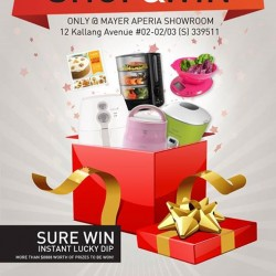 Shop and Win promotion @ Mayer Aperia Mall Showroom