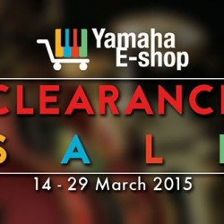 Clearance sale @ Yamaha e-shop