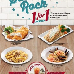 1 for 1 deals on weekdays for students @ The Manhattan FISH MARKET