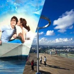 $32 for Admission to Marina Bay Sands SkyPark + Alive Museum @ Groupon