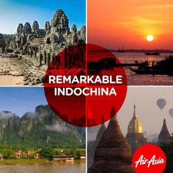 Explore mystical Indochina from $129 @ AirAsia