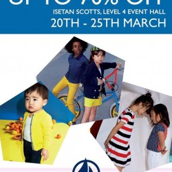 Petit Bateau Bazaar up to 70% off @ Isetan Scotts