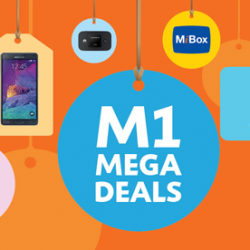 M1 Awesome deals & activities @ IT Show 2015