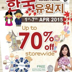 SOmang Korean Funfair : Up to 70% off on skincare and cosmetic products @ Bedok Mall Atrium