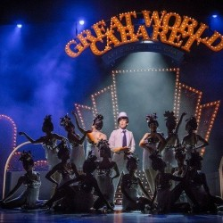 Free Autographed program booklet and 15% off a pair of CAT1 tickets to GreatWorldCabaret when book with Sistic