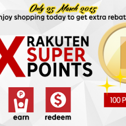 5X Super Points @ Rakuten