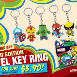 Marvel Key Ring for $3.90 with a minimum spend of $8 @ Shihlin Taiwan Street Snacks