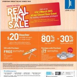 Purchase with purchase @ John Little Real hot sale