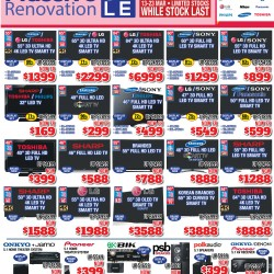 Massive renovation sale @ Audio house
