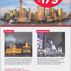All-in fare to Shanghai from $179 @ AirAsia