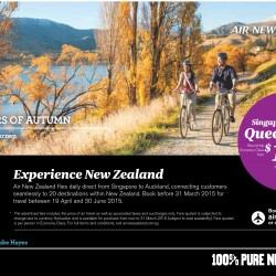 Experience New Zealand with Air New Zealand