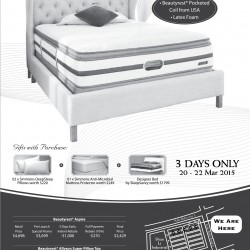 BeautyRest Gift with purchase mattress special @ SleepSavvy