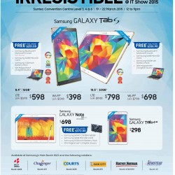 Samsung Irresistible deals @ IT SHOW 2015