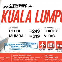 All in fare to Kuala Lumpur from $45 with Malindo Air