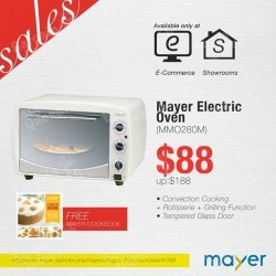 Electric Oven promotion for $88 @ Mayer