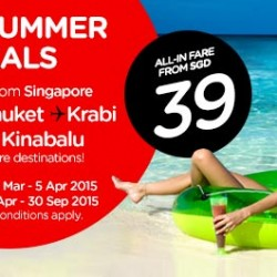 AirAsia: Hot Summer Deals from $39
