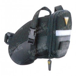 Topeak Aero Wedge Pack Strap-On Seat Mounted Bag for 27.2-34.9mm Seatposts @Amazon.com