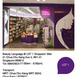 Beauty Language Atrium SALE @ LOT 1 Level 1 Atrium