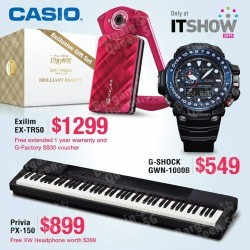 Casio Crazy Offers @ IT SHOW 2015
