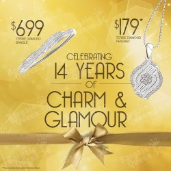 14th Anniversary Charm & Glamour Promotion @ TAKA Jewellery