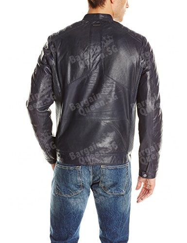 Calvin-Klein-Sportswear-Mens-Perforated-and-Solid-Mix-Leather-Jacket-0-0