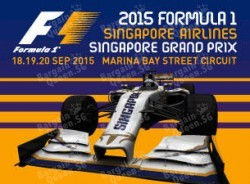 2015 Formula 1 Singapore Grand Prix Early Bird Tickets Promotion