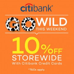 10% Off Storewide with Citibank Credit Cards @ Lazada
