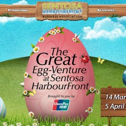 The Great Egg-Venture at Sentosa HarbourFront