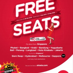 Free Seats to Grab @ AirAsia