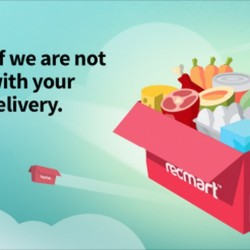 On-Time Delivery Guarantee from Redmart