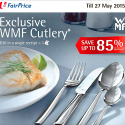Exclusive WMF Cutlery redemption @ Fair Price