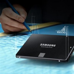 Samsung 850 EVO 1TB 2.5-Inch SATA III Internal SSD (MZ-75E1T0B/AM) @Amazon.com