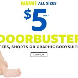 Select Baby Clothes all for US$5 @ Carter's USA
