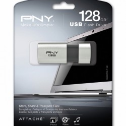 PNY Turbo 128GB USB 3.0 Flash Drive - P-FD128TBOP-GE @Amazon.com