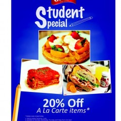 20% off students special @ Geláre Tampines 1