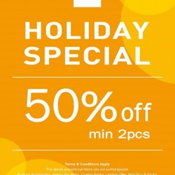 NET's Holiday Special: 50% Off min 2pcs