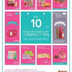 Mother's Day promotion @ Eu Yan Sang
