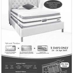Mattress promotion @ Simmons