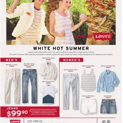 White Hot Summer sale @ Levi's