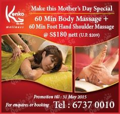 Mother's Day Promotion @ Kenko Wellness