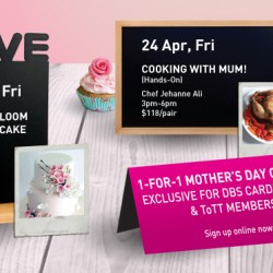 Up to 50% Off Mother's Day Promotion @ ToTT