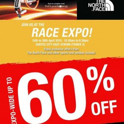 Energizer Singapore Night Trail Race Expo @ The North Face