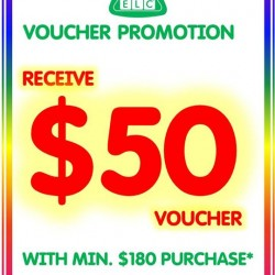 Early Learning Centre (ELC) Voucher Promotion
