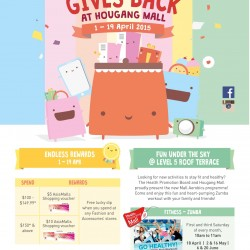 Shopping Gives Back @ Hougang Mall