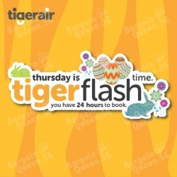 Thursday Flash Sale @ TigerAir