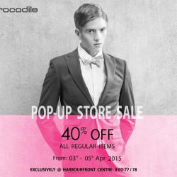 40% Off On All Regular Items @ Crocodile