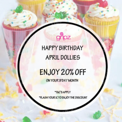 20% Birthday Discount @ Gripz