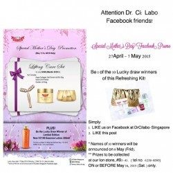 Mother's Day gift set at $109 @ Dr.Ci:Labo