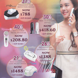 Huge Discounts on Home Beauty Devices @ Clariancy