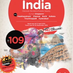 Discover the land of exotic beauty in India: All-in from $109 @ AirAsia